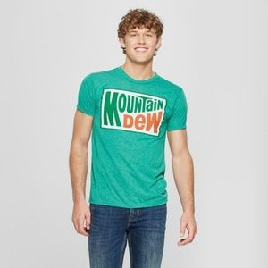 Men's Mountain Dew Short Sleeve Graphic T-Shirt -